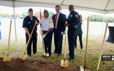 ​Veterans Memorial Groundbreaking